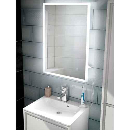 Vega Led Bathroom Mirror With Charging Socket